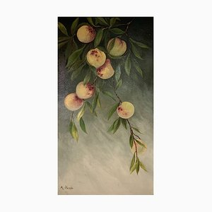 Antonio Parodi, Branch with Peaches, 1901