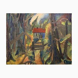 Poul Bille-Hols, La maisonnette de la forêt, 1919