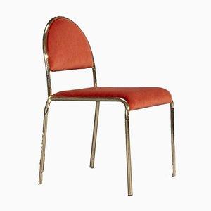 Hollywood Regency Stuhl aus Volterra 42 Stoff