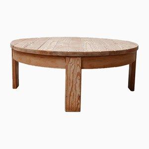 Mid-Century Dutch Pine Coffee Table