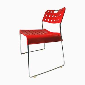 Omk Omstak Chair by Rodney Kinsman for Bieffeplast, 1970s