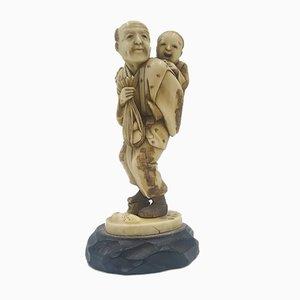 Antike Statue von Netsuke