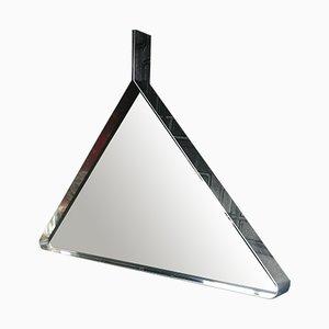 Flurspiegel & Konsole aus Stahl von Vittorio Introini für Saporiti, 1960er, 2er Set