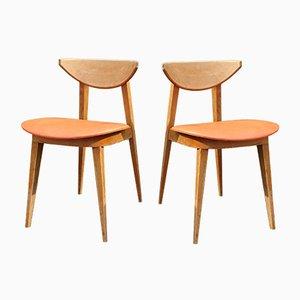 Skandinavische Stühle, 2er Set