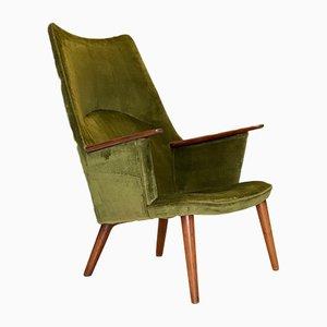 AP27 Lounge Chair by Hans Wegner for AP Stolen, Denmark, 1955