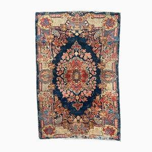 Antique Middle Eastern Floral Rug