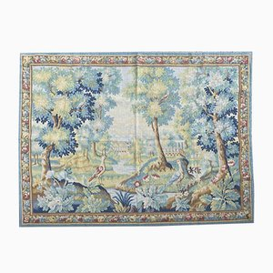 Vintage French Aubusson Style Tapestry, 1990s
