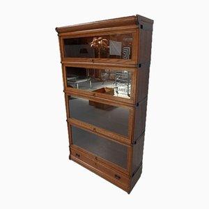 Antique Stackable Globe Wernicke Bookcase from Union Zeiss