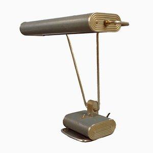N71 Schreibtischlampe von Eileen Gray für Jumo, Paris, 1930er