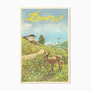 Emil Meerkämper, Davos Poster, 1935