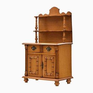 Miniature Antique Scandinavian Rustic Birch Dresser