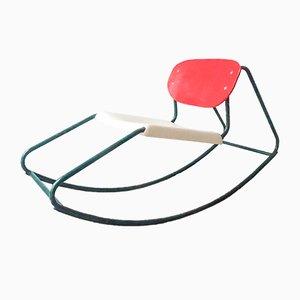 Rocking Chair in the Style of Dirk Van Sliedrecht, 1960s