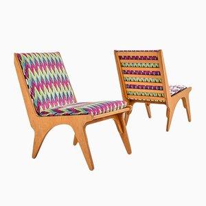 Dordrecht Stühle von Wim Van Gelderen für T Spectrum, 2er Set