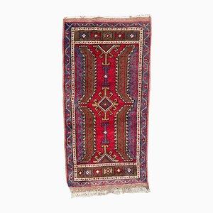 Vintage Turkish Yastik Rug, 1960s
