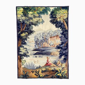 Antique French Aubusson Tapestry, 1920s