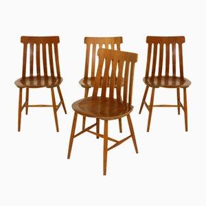 Chairs by Jan Hallberg for Tallåsen, Sweden, 1960s, Set of 4