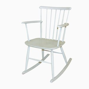 Rocking-Chair in Suède, 1960s