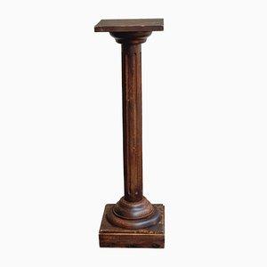 Vintage Säule aus Holz