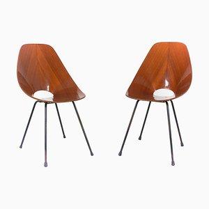 Medea Stühle von Vittorio Nobili für Fratelli Tagliabue, Italien, 1950er, 2er Set