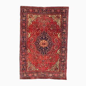 Antique Middle Eastern Sarouk Carpet