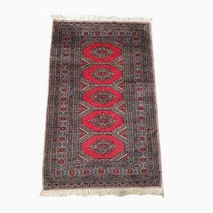 Vintage Handmade Bokhara Carpet, 1960s