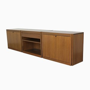 Sideboard from Molteni Production, Set of 3