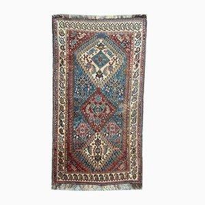 Fine Antique Qashqai Carpet, 1890s