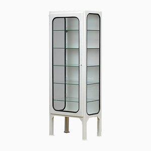 Vintage Medical Cabinet with Five Glass Shelves, 1970s