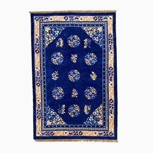 Vintage Chinese Peking Carpet, 1970s