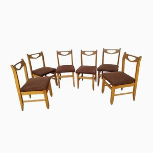 Chairs by Guillerme et Chambron for Votre Maison, 1960s, Set of 6