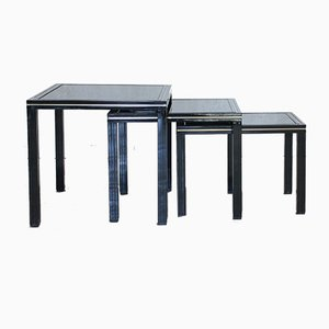 Nesting Tables by Pierre Vandel, France, 1970s, Set of 3
