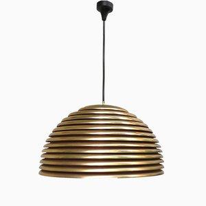 5639/S Saturno Gold-Plated Pendant Light by Kazuo Motozawa for Staff, 1970s
