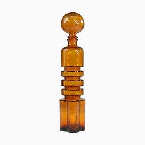 Italian Glass Decanter from Empoli, 1960s