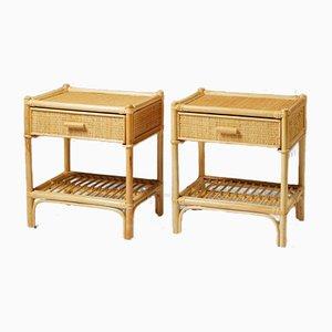 Bedside Tables from Dux, Sweden, 1960s, Set of 2