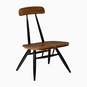 Pirkka Lounge Chair by Ilmari Tapiovaara for Laukaan Puu, Finland, 1950s