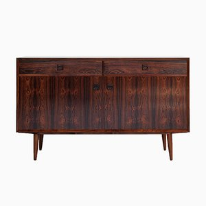 Mid-Century Danish Cabinet with 2 Doors and 2 Drawers in Rosewood from Brouer, 1960s