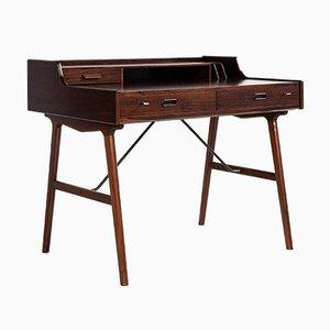 Mid-Century Model 56 Desk in Rosewood by Arne Wahl Iversen for Vinde Møbelfabrik