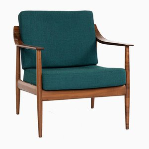Mid-Century Easy Chair in Cherry Wood from Knoll, 1960s