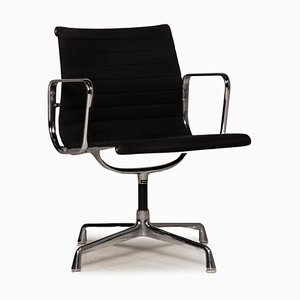 Black Fabric EA 108 Chair from Vitra