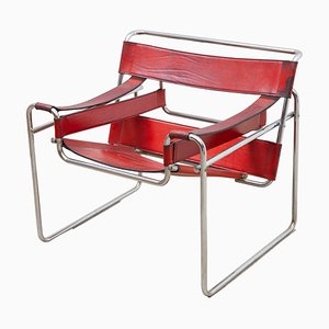 Wassily Lounge Chair or Side Chair by Marcel Breuer