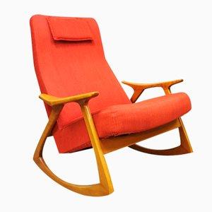 Mid-Century Swedish Rocking Chair
