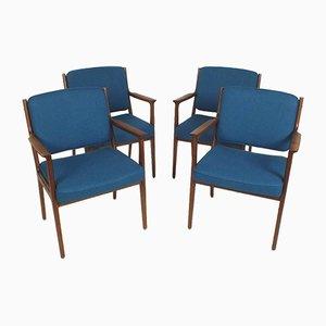 Chairs by Karl Erik Ekselius for J.O. Carlsson, Set of 4