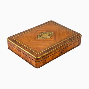 Louis XV Style Rose and Violet Wood Box