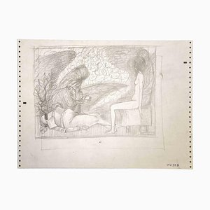 Leo Guida, Sybil and Knight, Drawings, 1970s