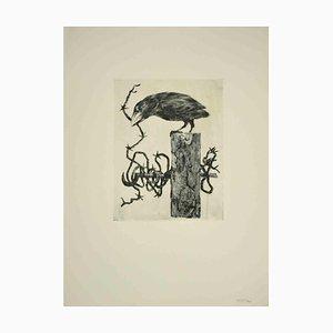 Leo Guida, The Bird, Original Etching, 1970s