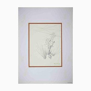 Leo Guida, The Fall, Original Drawing, 1970s