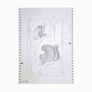 Leo Guida, On the Tree, Lithographie, 1970er