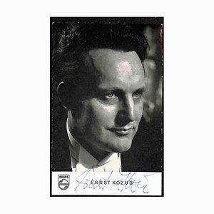Unknown, Ernst Kozub Autographed Photograph, 1950s