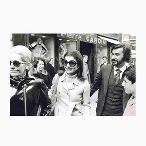 Sconosciuto, Jacqueline Kennedy e André Oliver, Fotografia vintage, anni '60