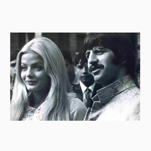 Unknown, Portrait of Ringo Starr and Ewa Aulin, Vintage Photograph, 1960s